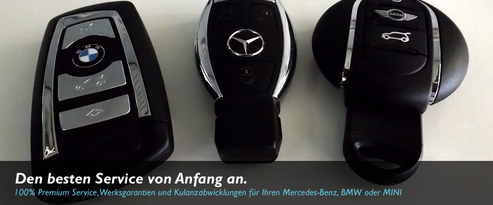 Mercedes-Benz, BMW und MINI Servicepartner